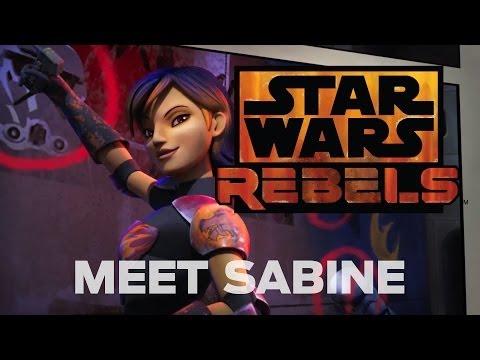 Meet Sabine, the Explosive Artist | Star Wars Rebels