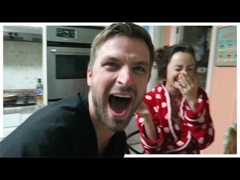 HUSBAND SHOCKS WIFE WITH PREGNANCY ANNOUNCEMENT!   Sam & Nia