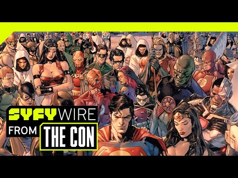 DC Comics Tom King On THAT Wedding, Heroes In Crisis & Breaking Batman | SDCC 2018 | SYFY WIRE