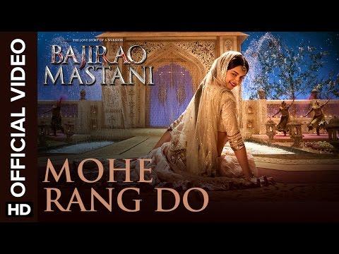 Mohe Rang Do Laal (Official Video Song) | Bajirao Mastani | Ranveer Singh & Deepika Padukone