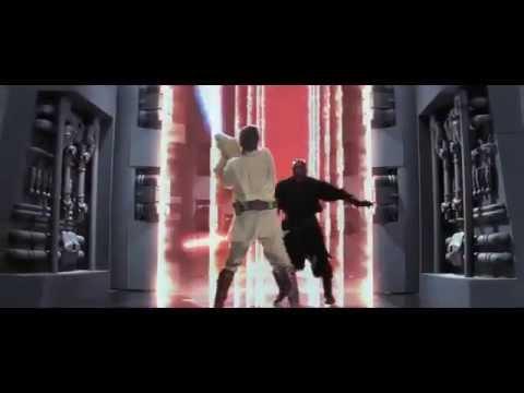 Qui-Gon & Obi-Wan Vs. Darth Maul - The Phantom Menace