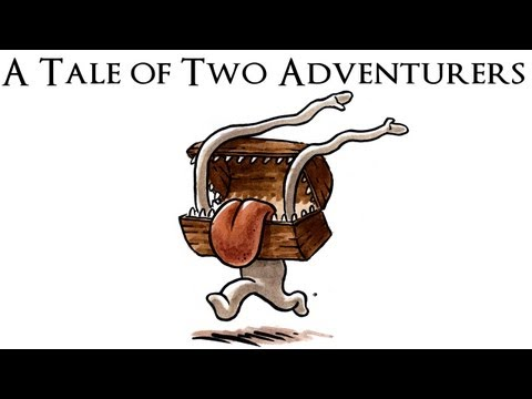 A Tale of Two Adventurers (and artificial difficulty)