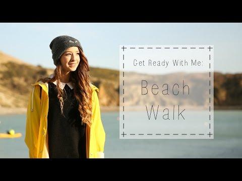 Get Ready With Me : Beach Walk | Zoella