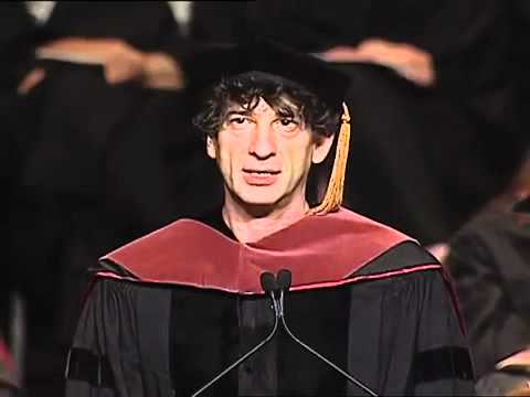 "Neil Gaiman 2012 Commencement Speech ""Make Good Art"""