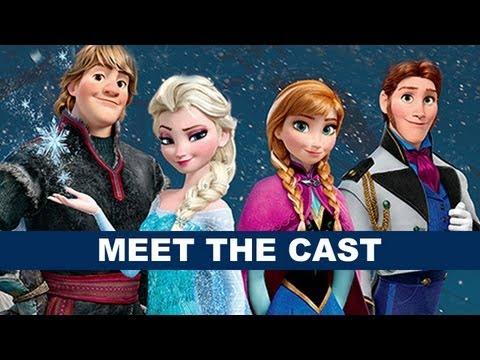Disney's Frozen 2013 - Meet Elsa, Anna, Kristoff, Hans and Olaf! Beyond The Trailer