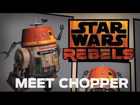 Meet Chopper, Grumpy Astromech Droid | Star Wars Rebels