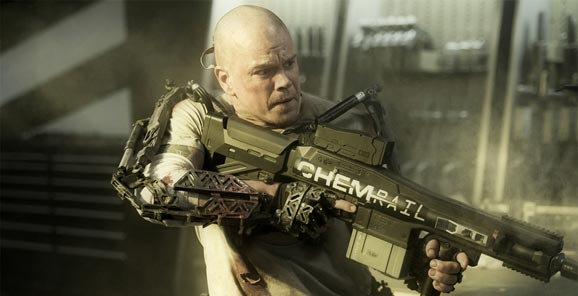 Matt Damon Elysium 2013