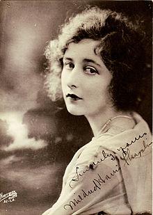Publicity shot of Mildred Harris
