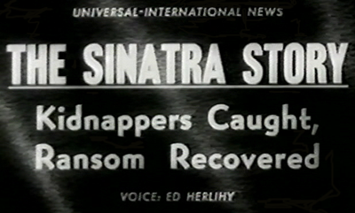 Newsreel featuring the story of the famous kidnapping