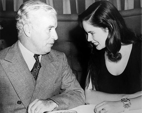 Charlie Chaplin and Oona O'Neill