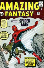 First appearance of Spidey!