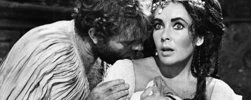Richard Burton and Elizabeth Taylor in 'The Taming of the Shrew' (1967)
