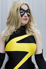The Amazing Belle Chere as Ms Marvel
