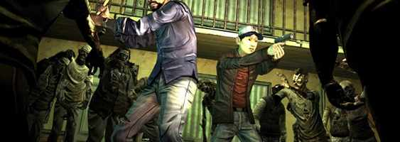 The Walking Dead is interested with providing a largely embedded narrative.