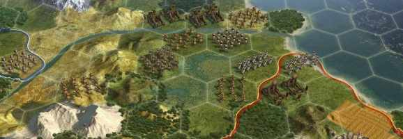 Civilization V focuses on creating emergent narratives