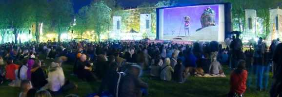 Annecy International Animation Festival outdoor theater.
