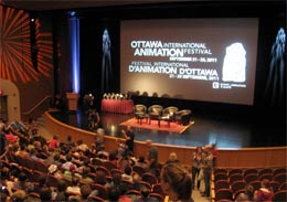 Ottawa animation Festival closing ceremonies