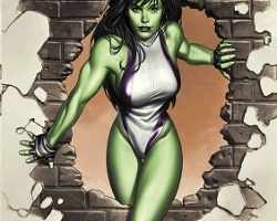 Jennifer Walters (aka She-Hulk) manages to look beautiful and not feel sexualized at the same time.