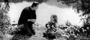 Boris Karloff in James Whale's 1931 adaptation of Frankenstein