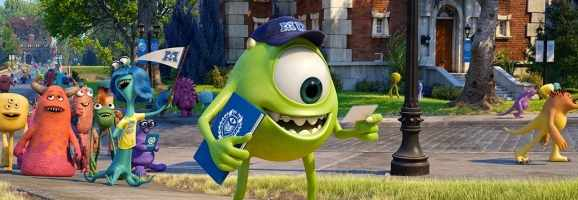 Mike on his first day at MU