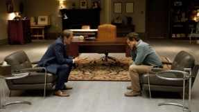 A therapy session between Hannibal and Will Graham.