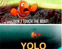 Only bad things happen when YOLO appears.