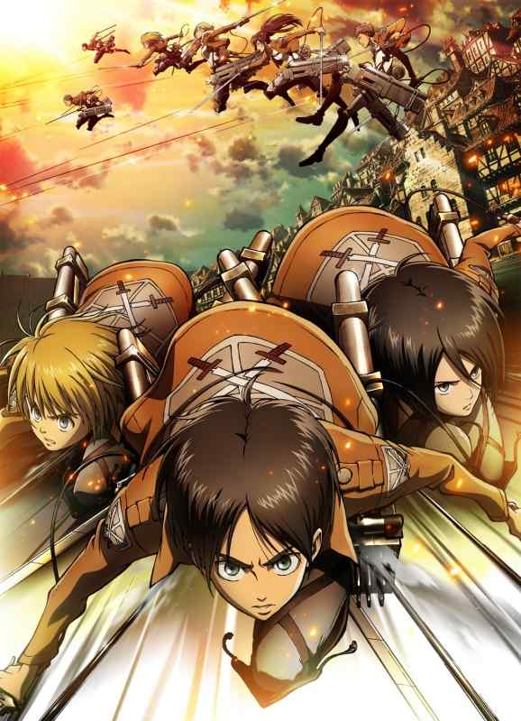 The Anime Is Adapted From Manga Series Of Same Name Written And Illustrated By Hajime Isayama Set In An Alternate Universe Attack On Titan Took