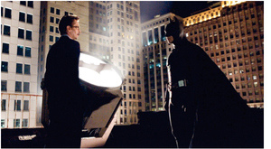 The Dark Knight Trilogy has some traits of the film-noir genre.