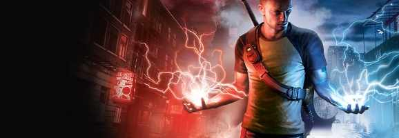 inFamous granted players different powers to good and evil players.