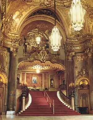 Nice place, huh? It is the Fox Theater in San Fransisco, and it no longer exists.