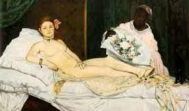 Manet's Olympia 1867