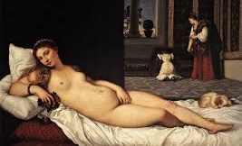 Titian's Venus of Urbino 1538