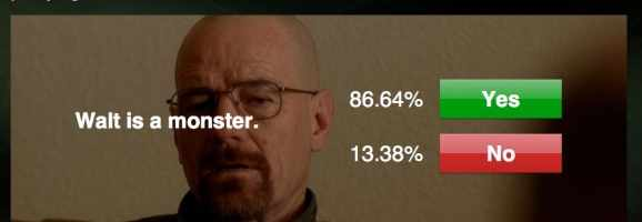 Breaking Bad Story Sync Layout- polling