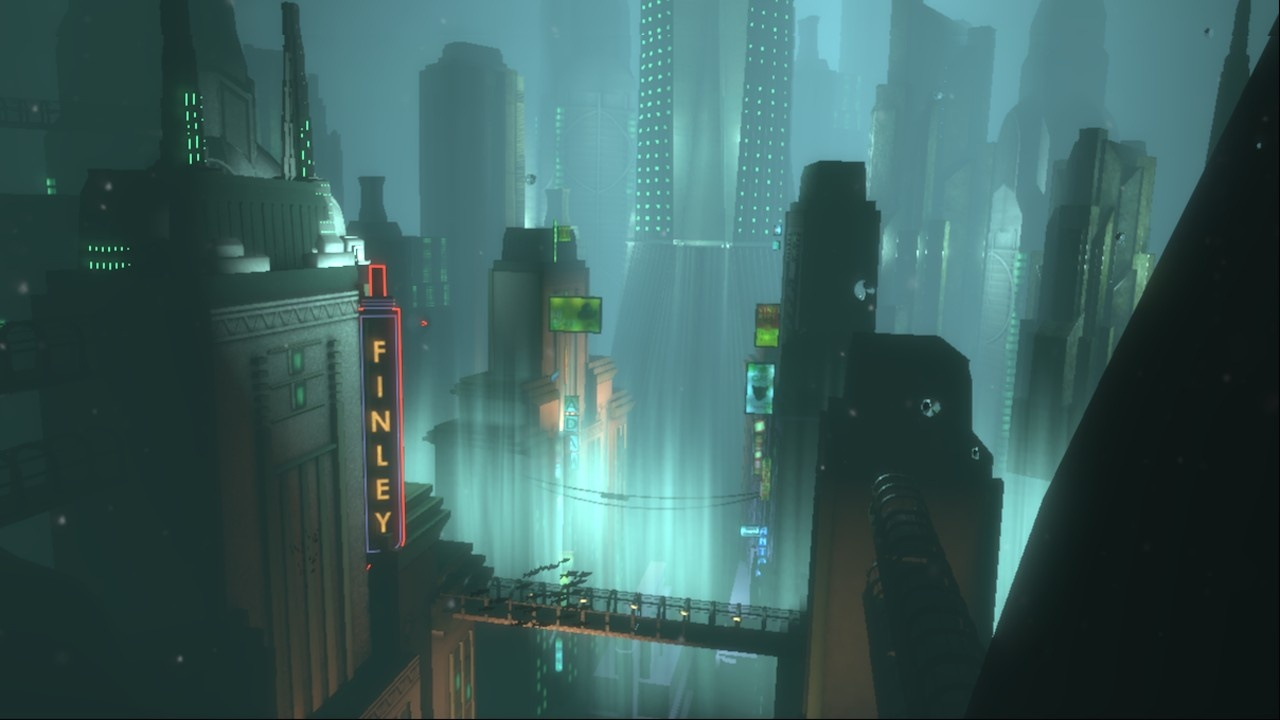 The world of Rapture, in and around which Bioshock's game is centered.