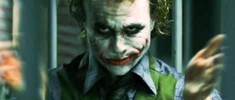Heath Ledger's Joker has been voted the best villain.