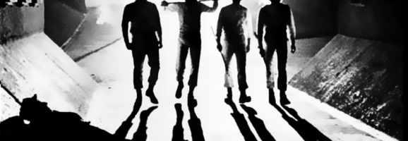 Alex and his gang of juvenile delinquents: A Clockwork Orange