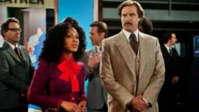 Anchorman-2-The-Legend-Continues-Meagan-Good-and-Will-Ferrell