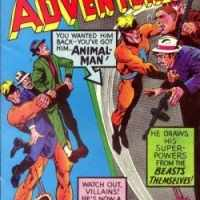"""Strange Adventures,"" the birthplace of Animal Man"