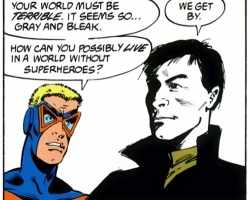 Animal Man and Grant Morrison's Meeting