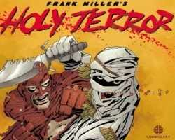 "Frank Miller's ""Holy Terror"" - Front Cover"