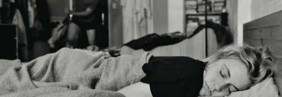 Frances in Bed
