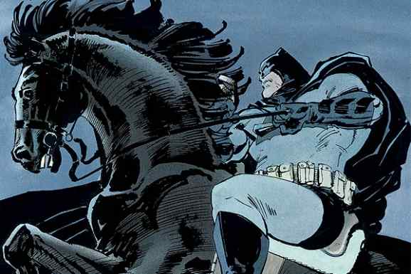 Batman Dark Knight Horse