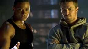 John_Diggle and Oliver Queen
