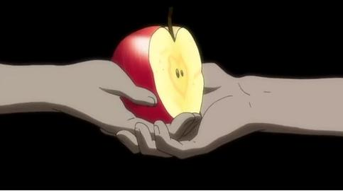 The apple of destiny