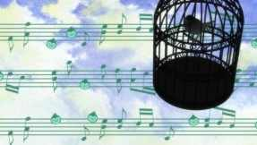 The musical bird that is forever locked in its cage