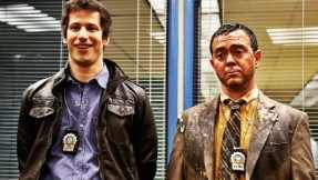 Andy Samberg and Joe Lo Truglio in Brooklyn Nine-Nine