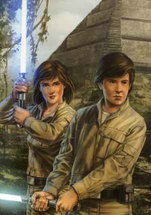 Jaina and Jacen Solo