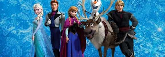 Main cast of Frozen