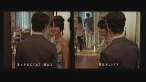 Expectations of love created by art rarely meet reality as Tom finds out in (500) Days of Summer (2009)