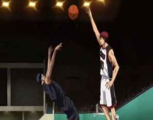 One of many necessary tournament battles in Kuroko no Basket.